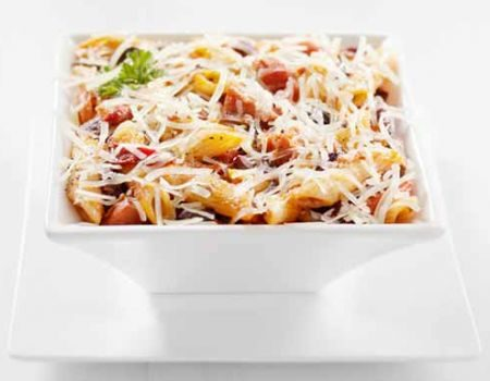 Image of Cheese-Topped Mostaccioli