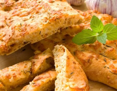 Image of Cheesy Herb Bread