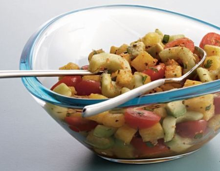 Image of Cherry Tomato and Watermelon Salad