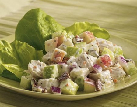 Image of Chicken and Apple Salad