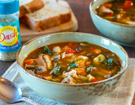 Image of Chicken & Vegetable Soup
