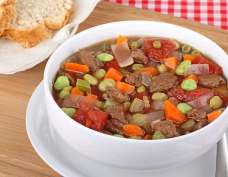 Image of Chunky Beef & Vegetable Soup