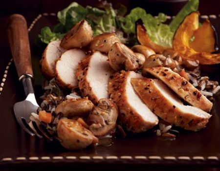 Image of Country Chicken and Mushrooms