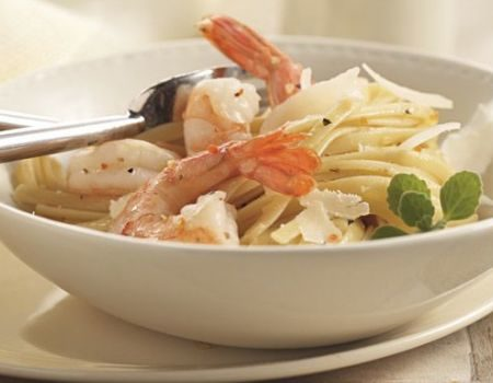 Image of Garlic Shrimp Linguini