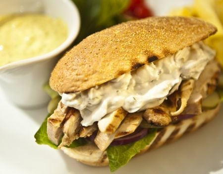 Image of Grilled Tuscan Chicken Sandwich
