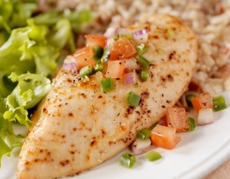 Image of Onion & Herb Baked Chicken Breasts