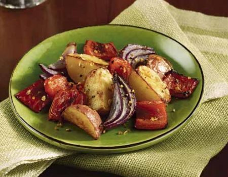 Image of Roasted Red Vegetable Salad