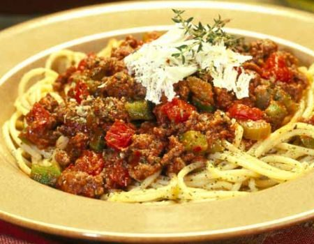 Image of Spaghetti With Meat Sauce