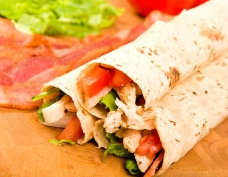 Image of Spicy Tortilla Roll-Ups