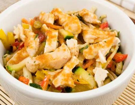 Image of Thai-Style Grilled Chicken & Noodle Salad