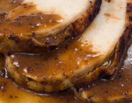 Image of Turkey With Bourbon Sauce